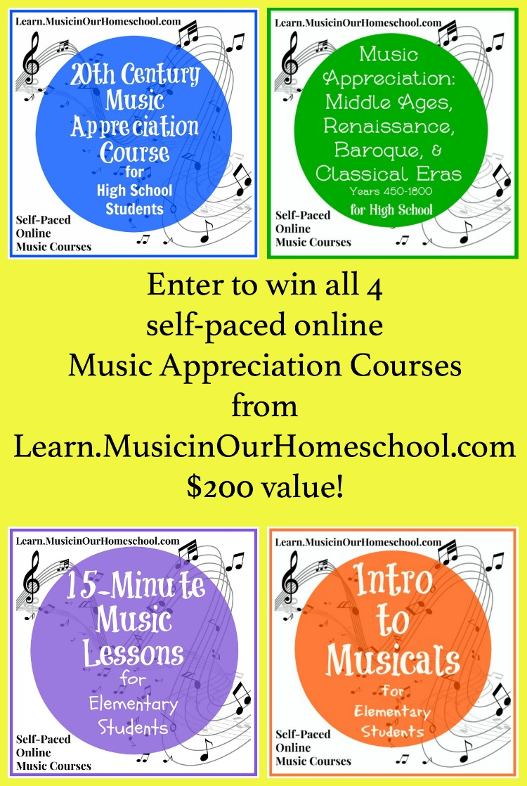 Giveaway of 4 Online Music Courses