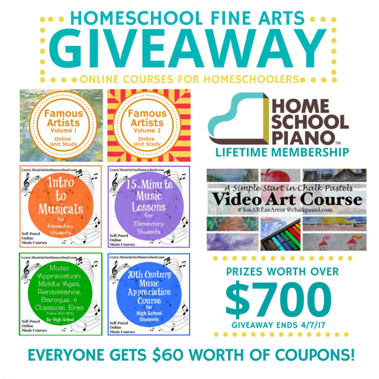 Enter the Fine Arts giveaway, courses worth over $700!