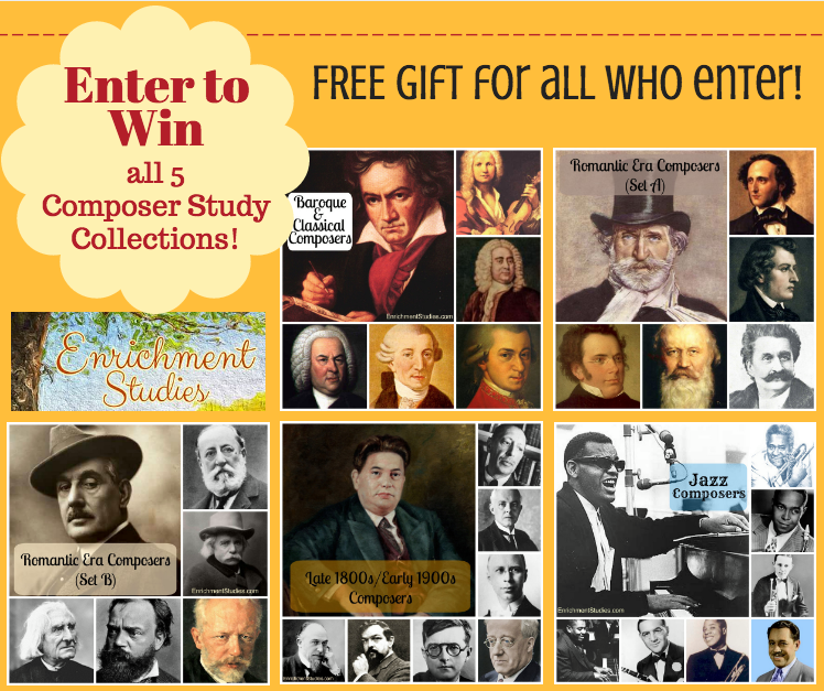 Enrichment Studies Composer Study Collection giveaway