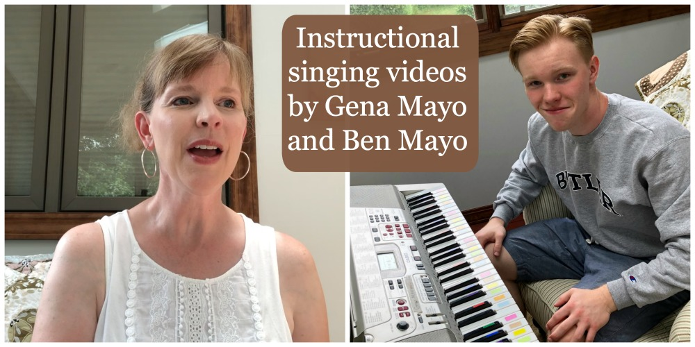 Great Hymns of the Faith online course Instructional Singing Videos by Gena Mayo and Ben Mayo