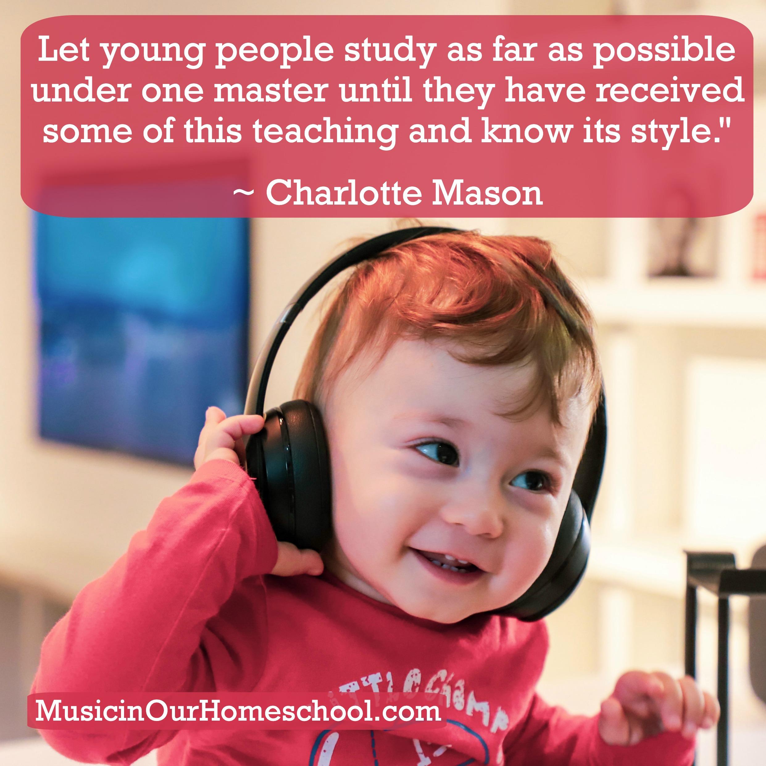 How to Teach Music the Charlotte Mason Way #charlottemason #charlottemasonhomeschool #homeschoolmusic #musicinourhomeschool